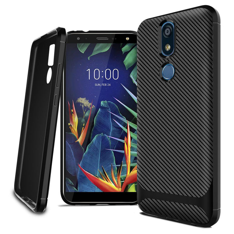 200pcs/lot For Nokia 1 Plus 2019 Ultra Thin Anti-fingerprint Carbon Fiber TPU Case For Nokia 4.2 2019