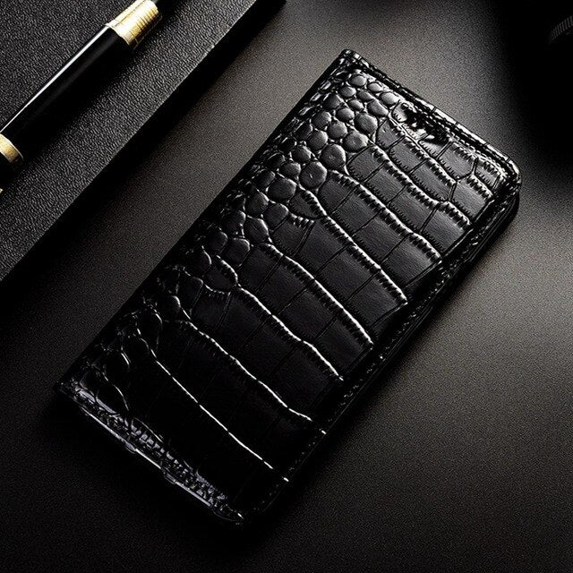 Genuine Leather Phone Case For Nokia 1 2 2.1 2.2 3 3.1 3.2 4.2 5 5.1 6 6.1 6.2 7 7.1 7.2 8 8.1 9 Plus Flip Cover Coque Luxury