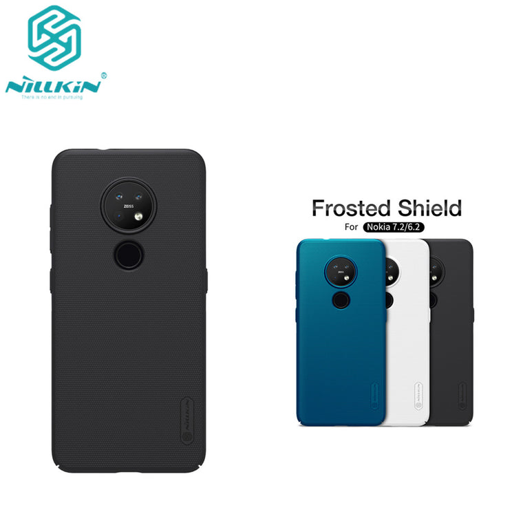10pcs/lot wholesale Nillkin Super Frosted Shield Case For Nokia 7.2 PC Hard Back Cover Case For Nokia 6.2 case