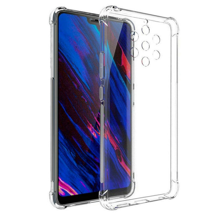 100pcs/lot For Nokia 9 Soft Thick Plain Whole Crystal Shockproof Armor Clear TPU Case For Nokia 9