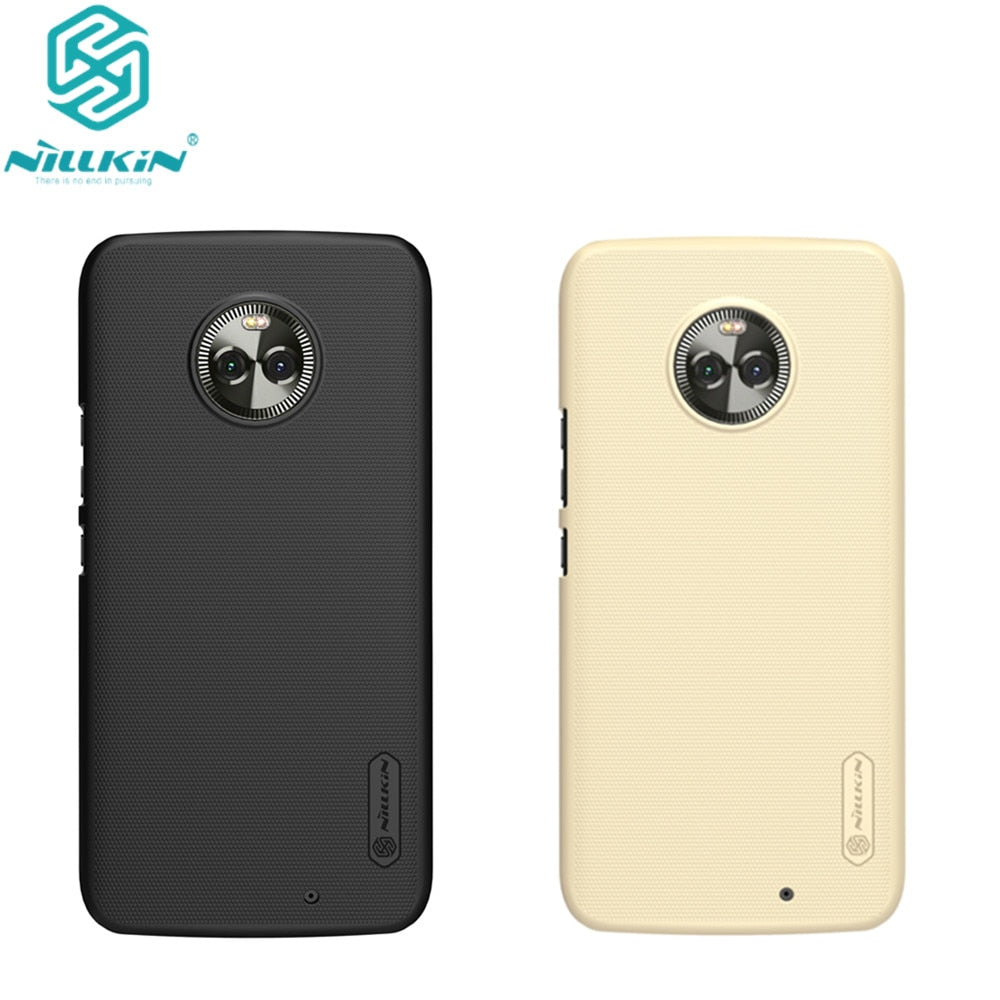 10pcs/lot wholesale Nillkin Super Frosted Shield Case For Motorola Moto X4 PC Hard Back Cover Case for Moto X 4th case 5.2 inch