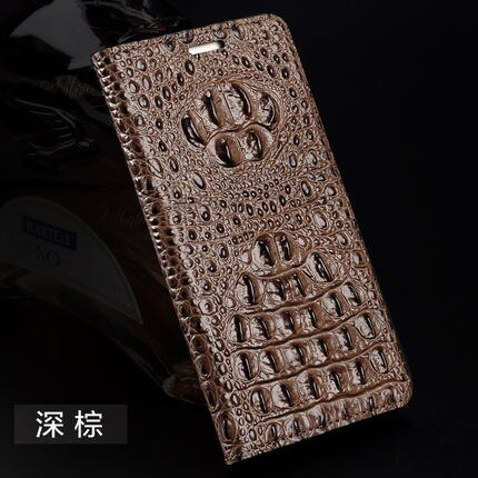LANGSIDI Genuine leather flip phone case For iphone 11 Pro max Crocodile texture 360 Protection cover for iphone x xr xsmax 7 8