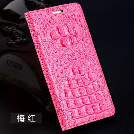LANGSIDI genuine leather flip phone case For iphone X XS MAX XR X 11 PRO 7 8 PLUS Crocodile back texture Back cover