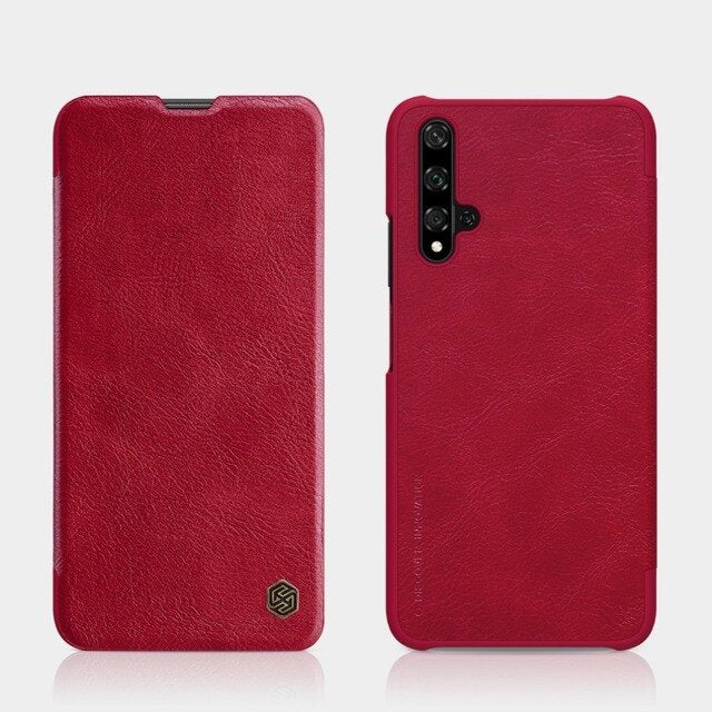 "For Huawei Honor 20 case flip cover 6.26"" PU leather case for Huawei Honor 20s on luxury vintage wallet folding case"