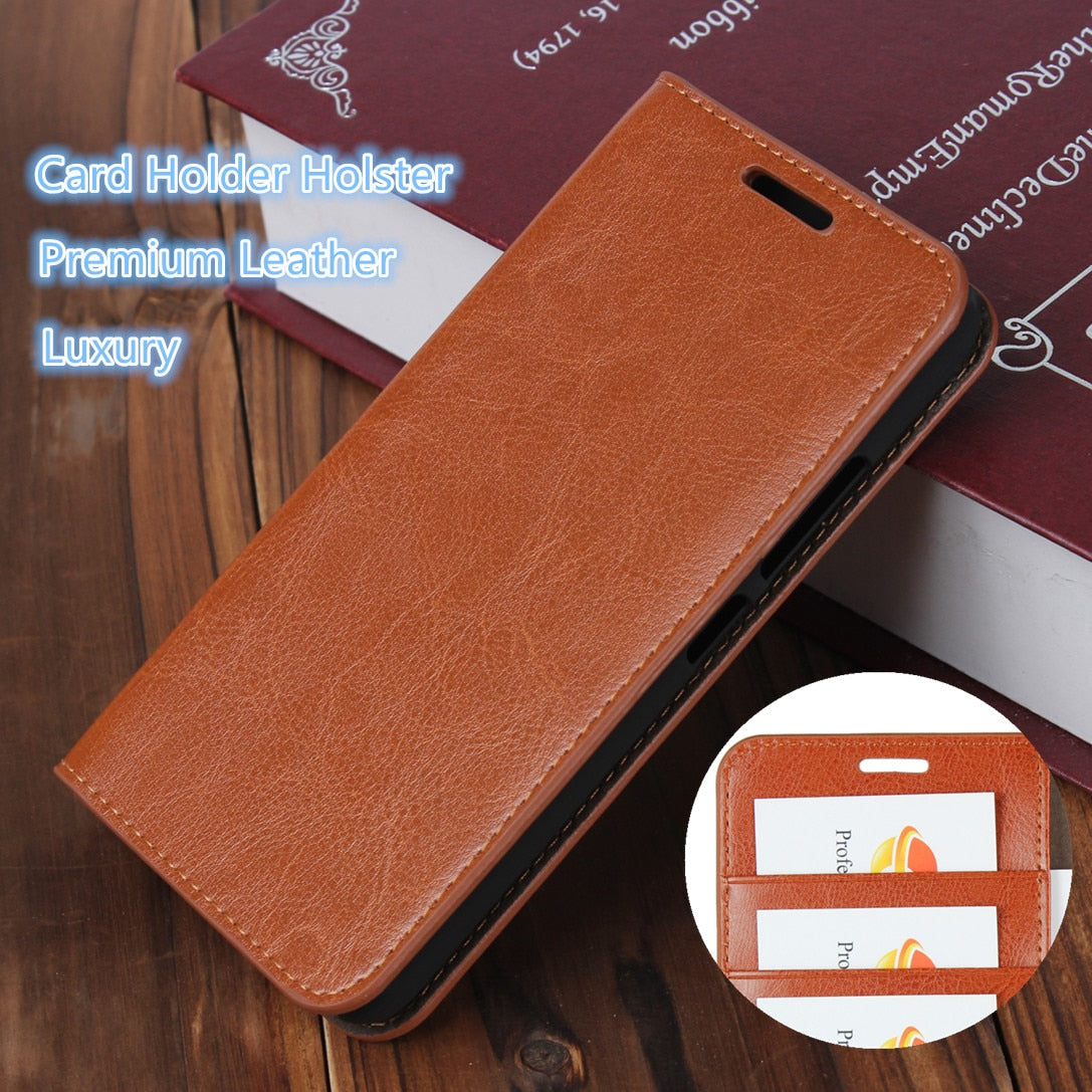 Case For Xiaomi Mi Max / Xiaomi Mi Max 2 Leather Wallet Cover Case Flip case card holder Cowhide holster