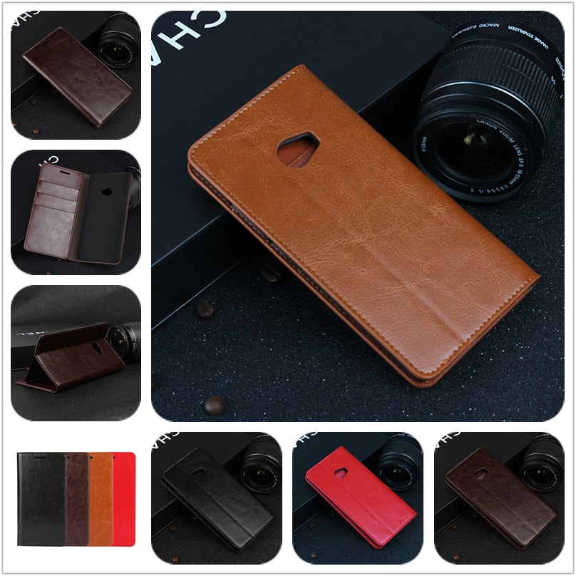 Deluxe Wallet Case For Xiaomi Mi Note 2 premium leather Case Flip Cover for Xiaomi Mi Note2 Phone Bags