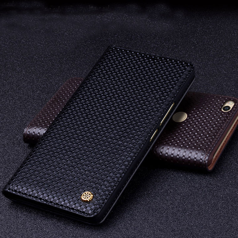 100% Genuine For Xiaomi MI Max 2 Leather cover case protector case for Xiaomi mi Max2 back housing capa Wake Sleep up
