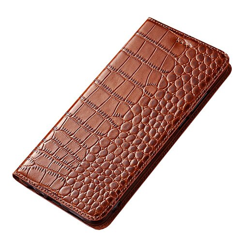 Case for Nokia 6.2 Crocodile pattern Genuine Leather Flip wallet Cover for Nokia 6.2 Phone cases
