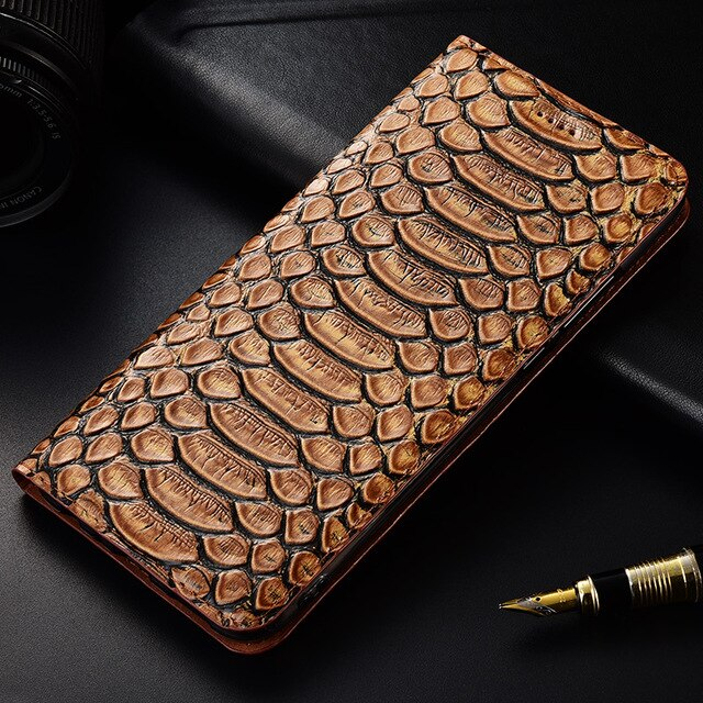 TOP Luxurious Flip Stand Case For Motorola MOTO E5 G5 G5S G6 G7 Play Plus Power Cover Genuine Cow Leather Phone Case