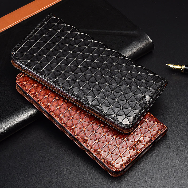 Top Genuine Leather Phone Cover Case For Motorola Moto G5 G5S Plus Flip Magnetic Bracket Card Bag Phone Case