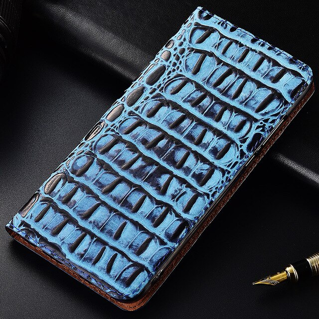 3D Crocodile Genuine Leather Case For LG V20 V30 V40 V50 ThinQ K40S K50S Case Stand Flip Magnetic Mobile Phone Cover Bag SN01
