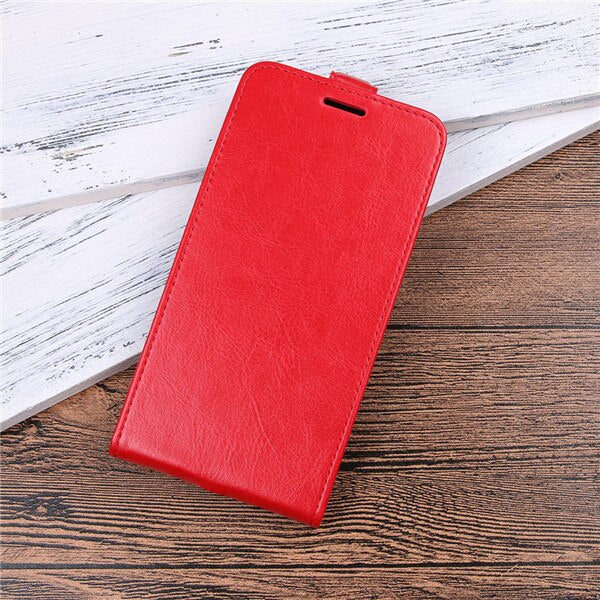 Brand gligle up and down open leather cover case for HTC U11 Plus case protective shell bags
