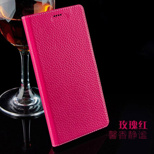 7 Color Natural Genuine Leather Magnetic Stand Flip Cover For Meizu MX2 MX3 MX4 Pro MX5 MX6 Luxury Mobile Phone Case + Free Gift