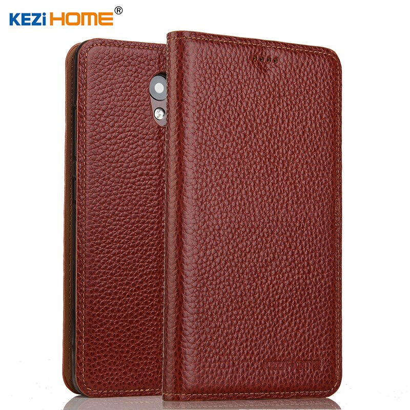 for Lenovo vibe s1 lite case Flip genuine leather soft silicon back cover for Lenovo vibe S1La40 coque