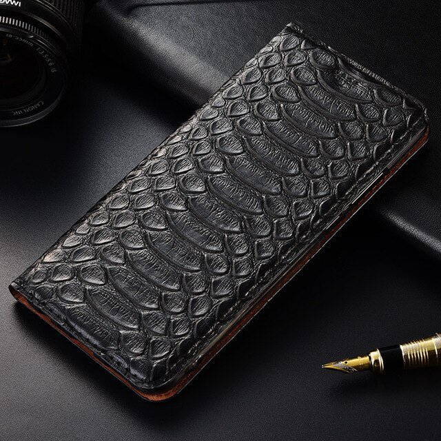 TOP Luxurious Flip Stand Case For Lenovo Z5 Z5s Z6 Pro Lite GT Cover Genuine Cow Leather Phone Case