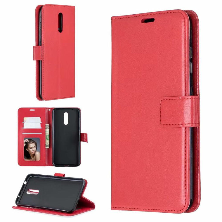 200pcs/lot Leather Crazy Horse Wallet cover Case For Nokia 4.2 3.2 6.2 5.1 2.1 8.1 3.1 7.1 plus