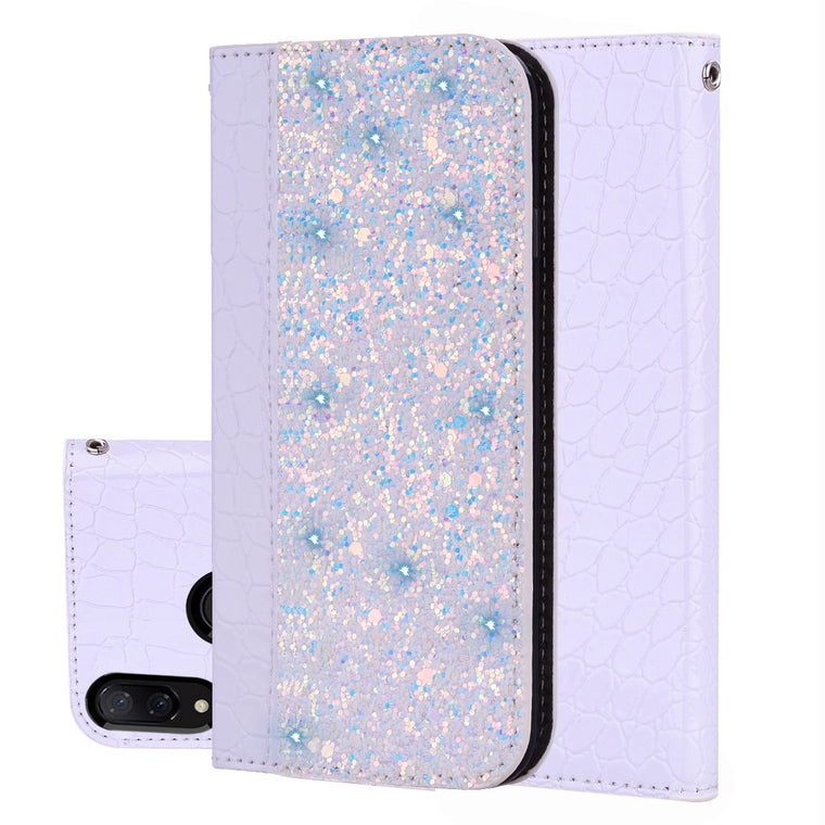 100pcs/lot Glittering Crocodile Magnetic card wholesale case for Nokia 5 6 2018 7 plus 8 3.1 5.1 6.1 plus 7.1 8.1 leather cover