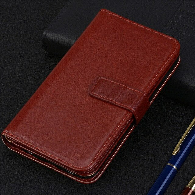 PU Leather Magnetic 9 Card Slots Flip Wallet Case For Huawei Honor 4A 5A 5C 6A 6X 7I Shot X 7X 8 8X V9 9i 9 10 Lite Play Case