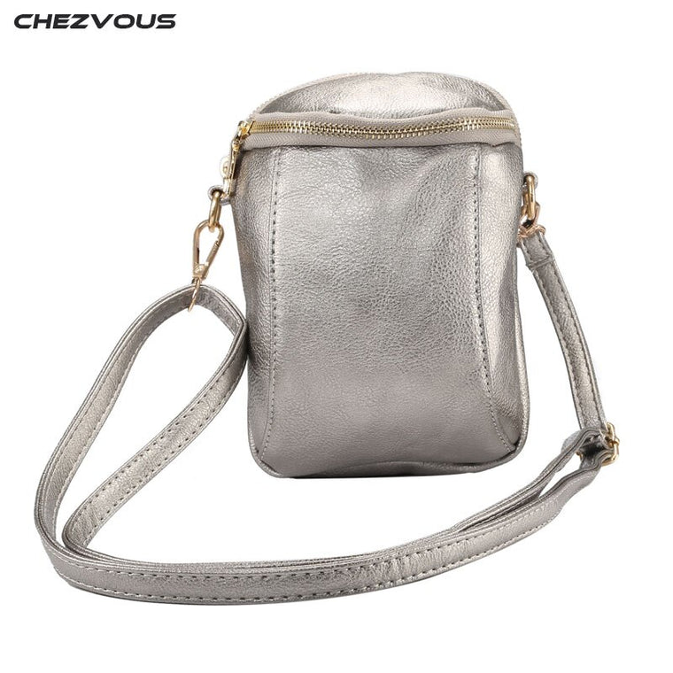 2018 CHEZVOUS 6.4 inch Cell Phone Bag Shoulder Pocket Wallet Pouch Case Neck Strap For Xiaomi/Huawei/HTC/LG/Sony/Lenovo