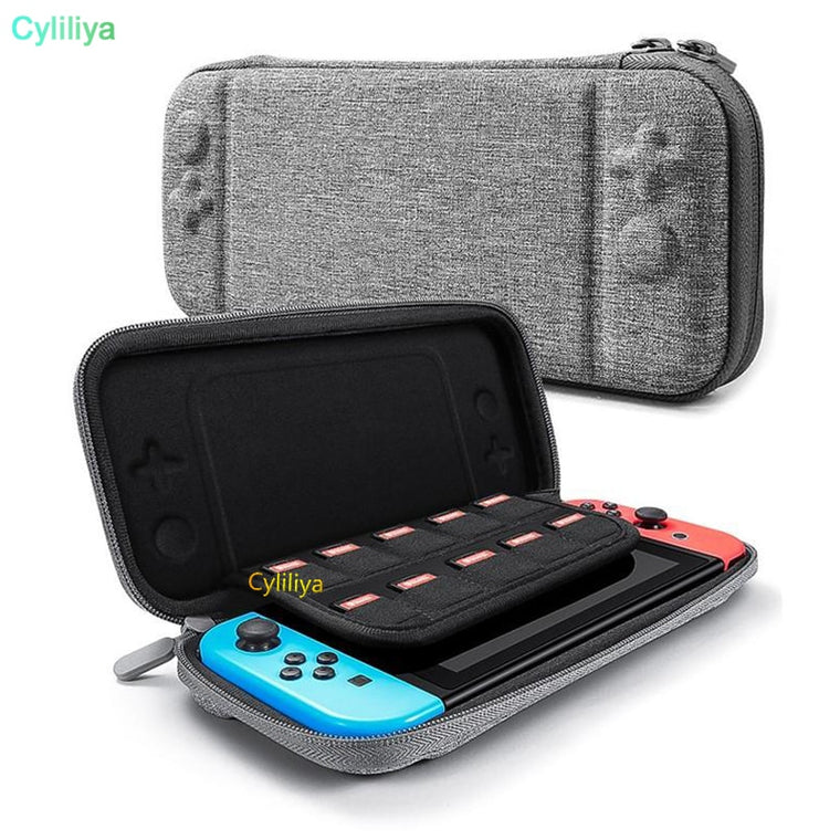 100pcs For Nintendo Switch Console Case Durable Game Card Storage Bag Carrying Case Hard EVA Bag shell Portable Protective Pouch