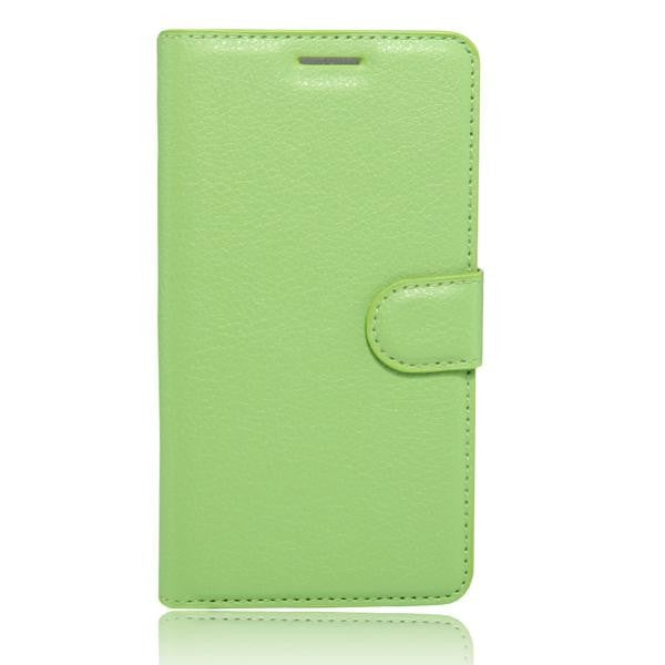 50pcs/lot Free shipping Hot Selling Lychee Wallet Leather Case Stand With Card Holder For LG K5