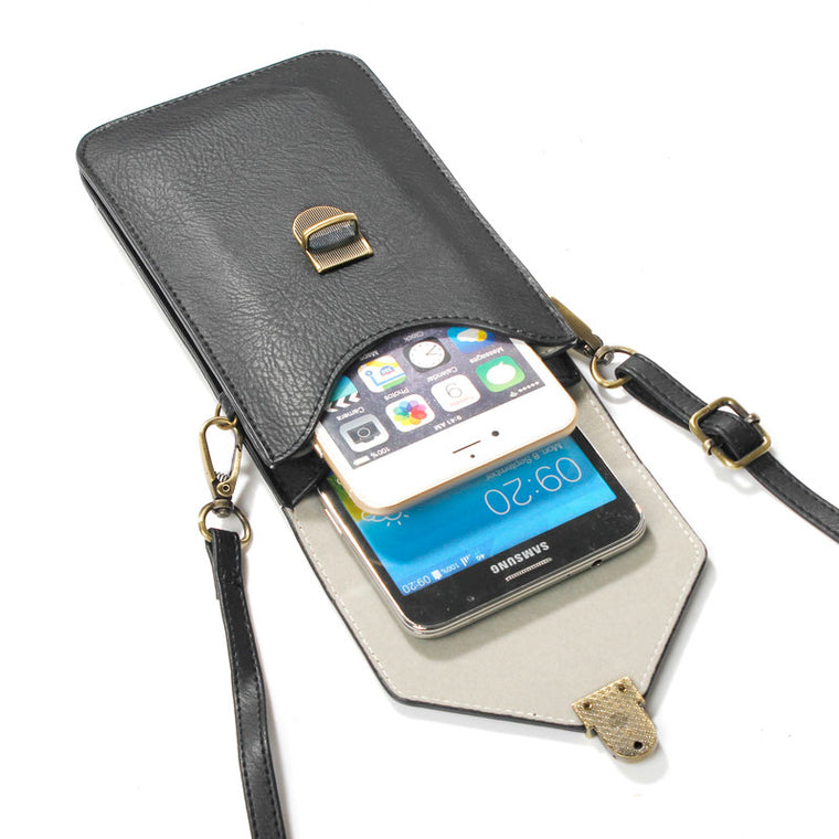 6.3'' Phone Bag Universal PU Leather Pouch Crossbody Small Bags for Microsoft Nokia Lumia 430 435 532 540 550 630 640 XL 650
