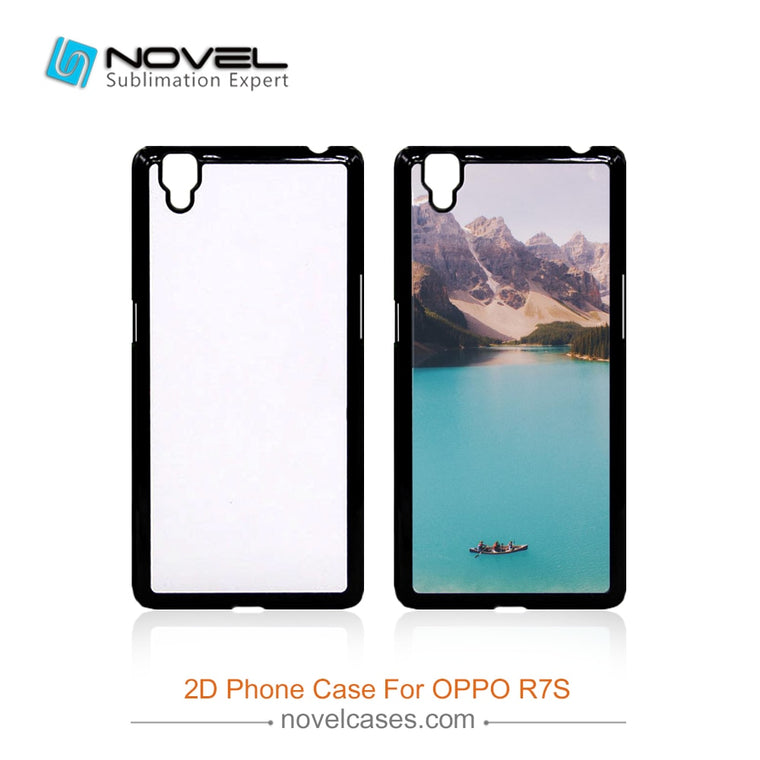 Printable sublimation mobile pc phone case for Oppo R7S