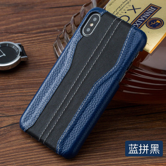 luxurious splice fashion phone case for iphone 11 11 Pro X XS XS max XR 5 6 7 8 plus men and women Anti-fall protection cover