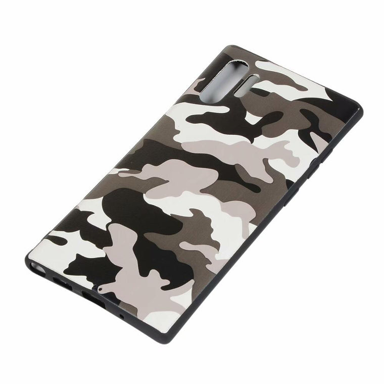 100pcs/lot Camouflage TPU Soft Back Cover Case for Samsung S10 5G M30 M40 A40 A50 A60 A70 A80 A90 A2CORE Note10 NOTE 10Pro