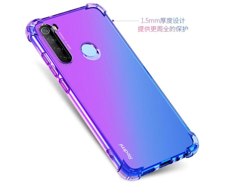 20pcs/lot free Gradient Shockproof Soft TPU Case for Xiaomi Mi 9Pro CC9Pro Note 10 Redmi 8 8A Note 8 Note 8Pro Note 8T