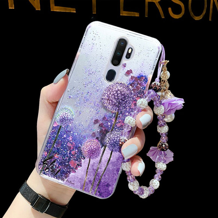 C132-1370 case for oppo A11 ultra slim soft silicon quick sand back cover