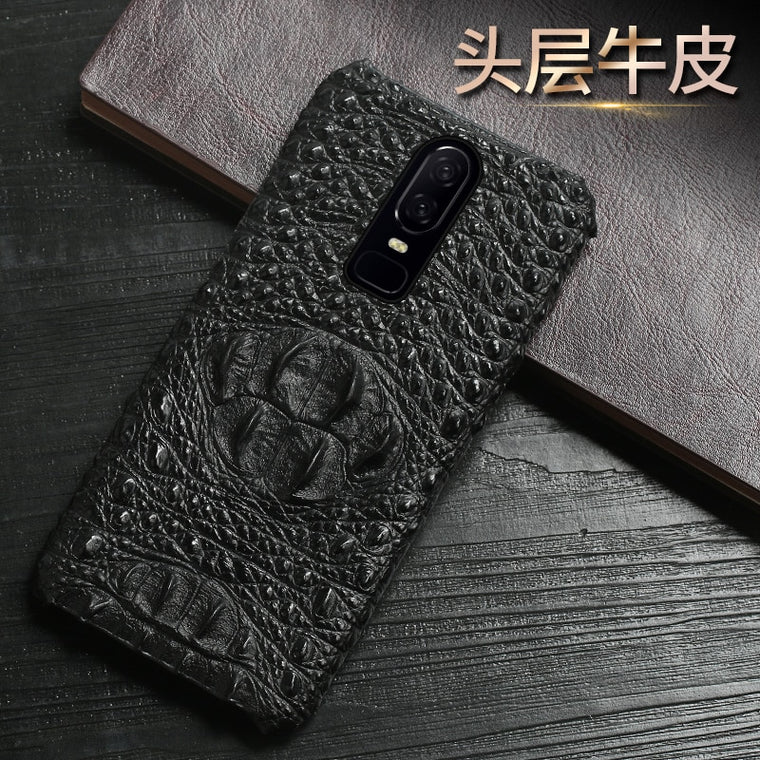 Genuine Leather protection Phone case For Oneplus 7 7 Pro 7T shell shockproof Luxury back cover for Oneplus 7T Pro 6 6T 5 5T 3T