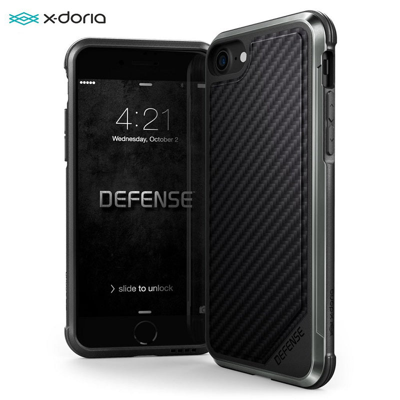 X-Doria Defense Lux Phone Case For iPhone 7 8 Plus Military Grade Drop Protection Aluminum Case For iPhone 7 8 Plus Coque Cover