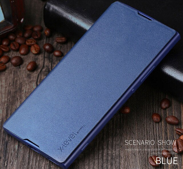 For NOKIA 8 Case X-Level Business PU Leather Phone Cover For NOKIA 8 + TPU Flip Phone Case For NOKIA 8