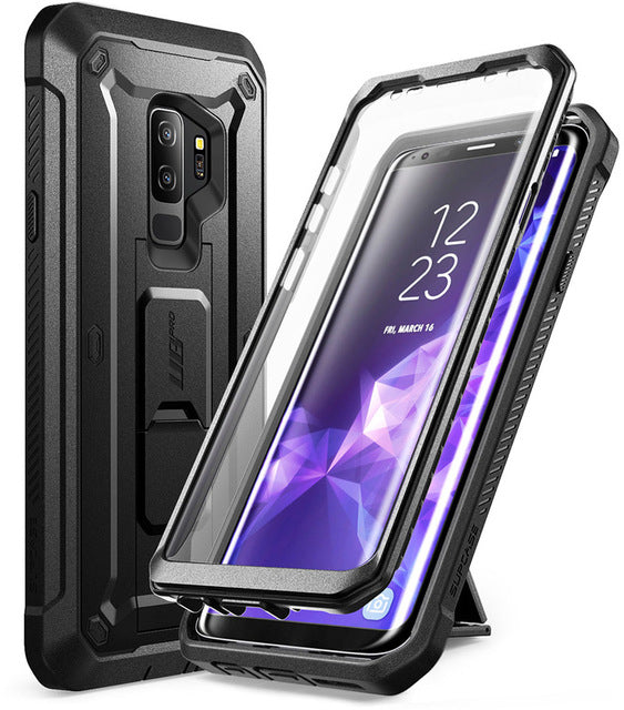 For Samsung Galaxy S9 Plus Case SUPCASE UB Pro Shockproof Rugged Case Cover with Built-in Screen Protector & Kickstand