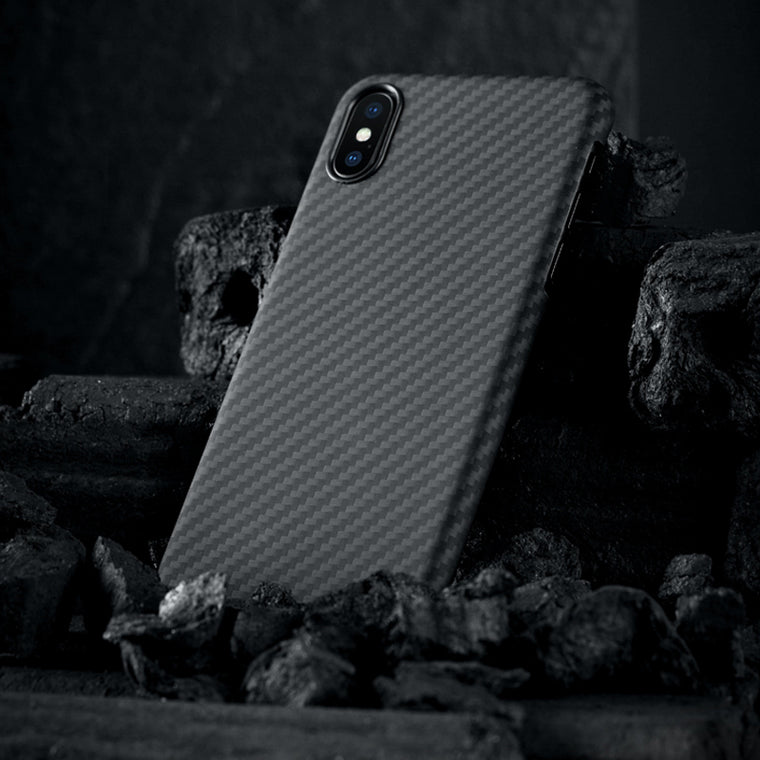 0.7mm Ultra Thin Carbon Fiber Pattern Case for iPhone XS Case Luxury Protective Phone Cover for iPhone XS Max X Case