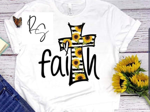 Sunflowers and Faith