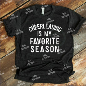 Cheerleading is my favorite season