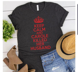 Keep Calm, Carol did it