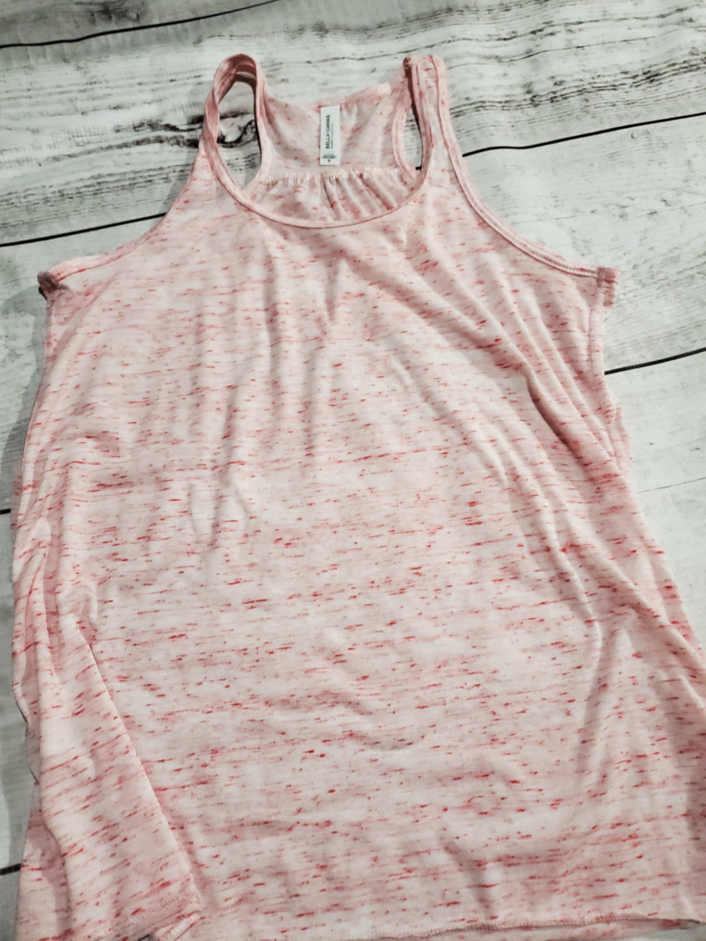 Red Speckled Tank