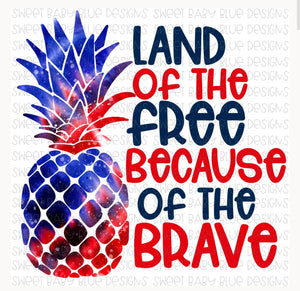 Pineapple land of the free
