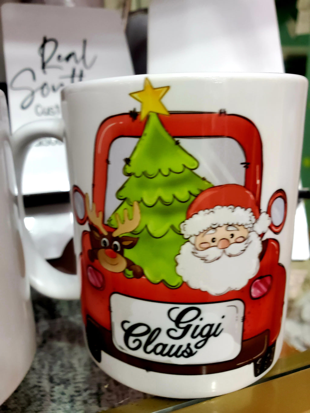 Gigi Claus ceramic mug