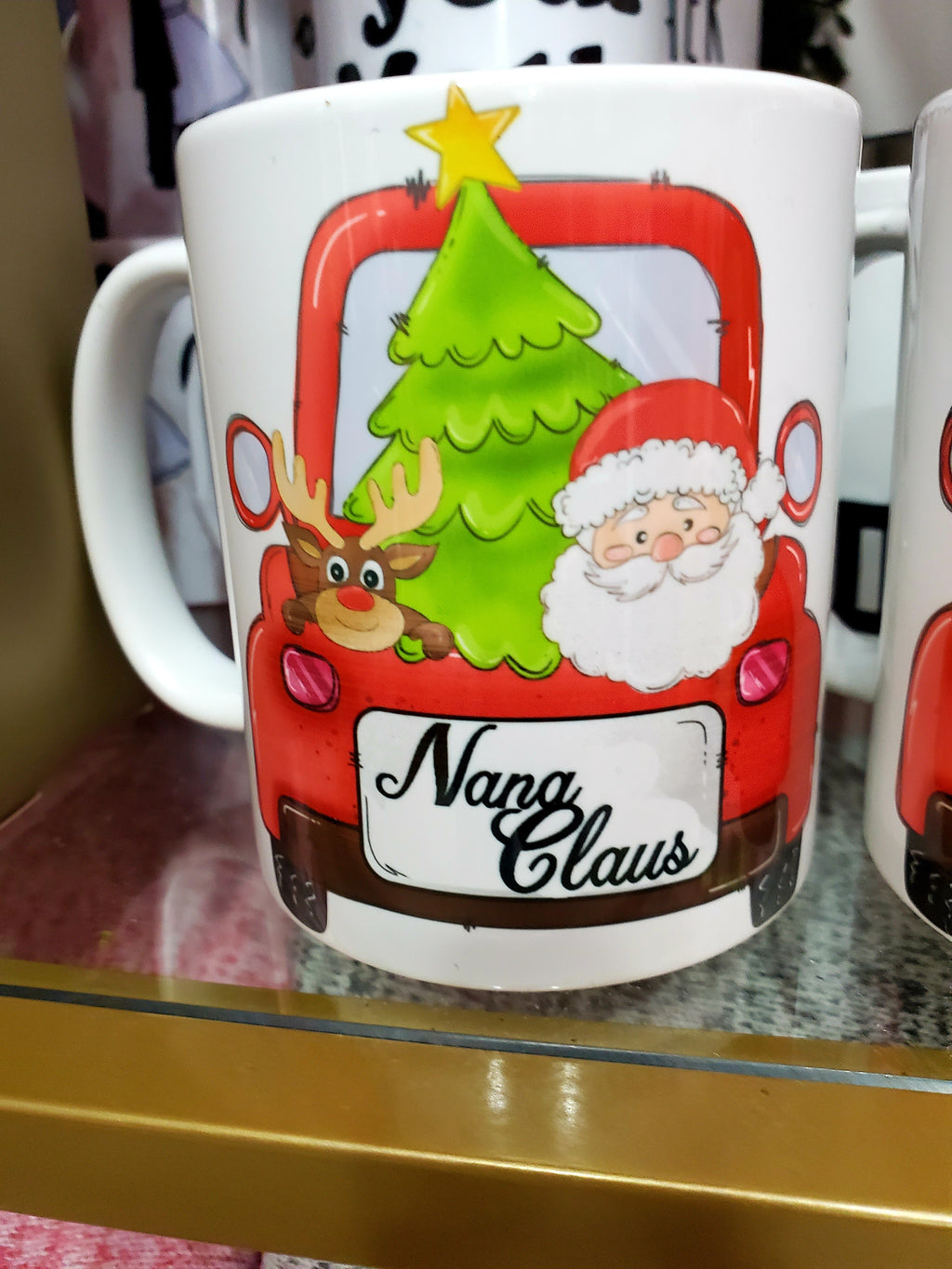 Nana Claus ceramic mug