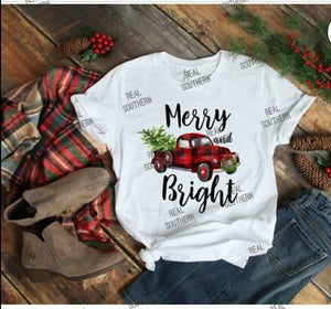 Merry and Bright - truck
