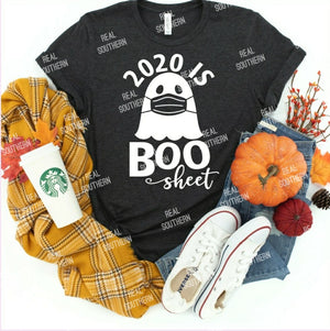 2020 Boo Sheet White