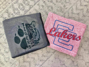 School blankets - lakers