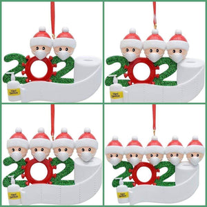 2020 Toliet Paper Christmas Ornament with name