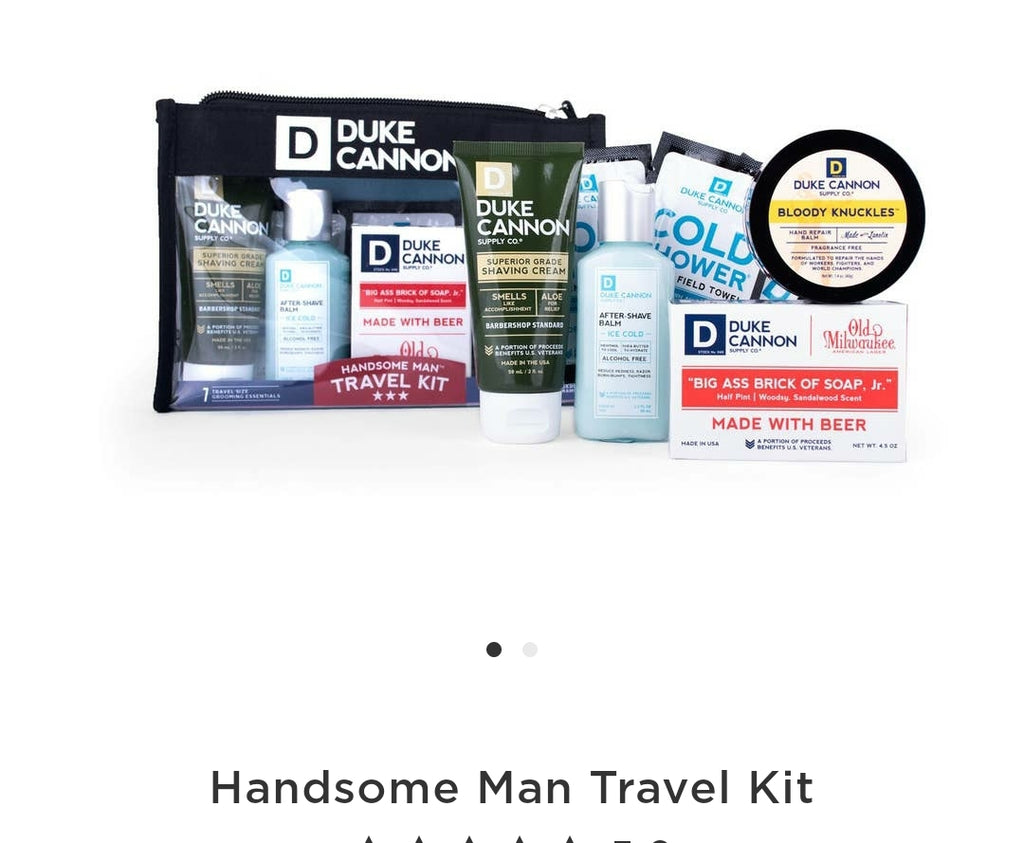 Handsome Men Travel Kit