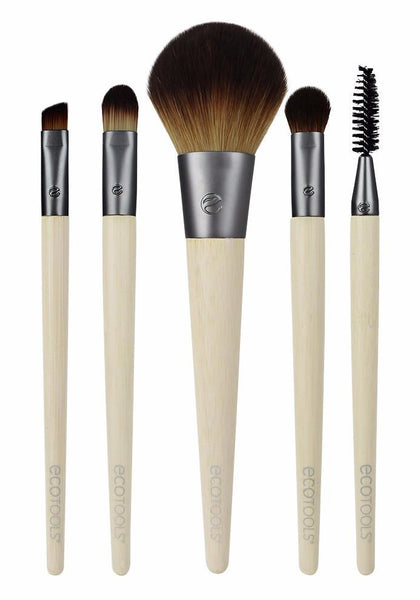 Ecotools - Six Piece Starter Collection 5 Brushes & Cosmetic Bag