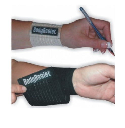 Body Assist - Adjustable Elastic Wrist Band PICK SIZE Hand Support Strap Injury